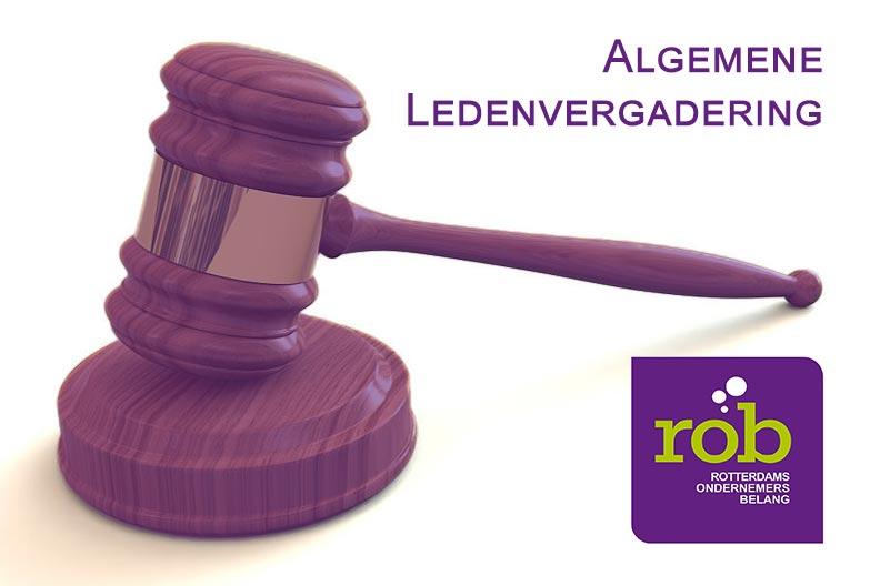 Maandagavond 14 maart a.s. vanaf 18.00 uur ALV en openbare bestuursvergadering ROB