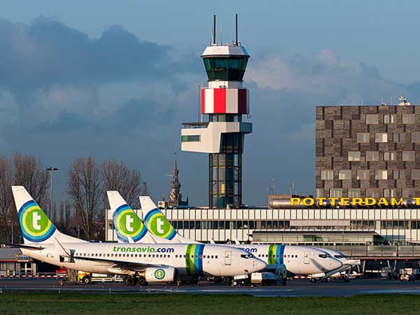Passagiersrecord voor luchthaven Rotterdam