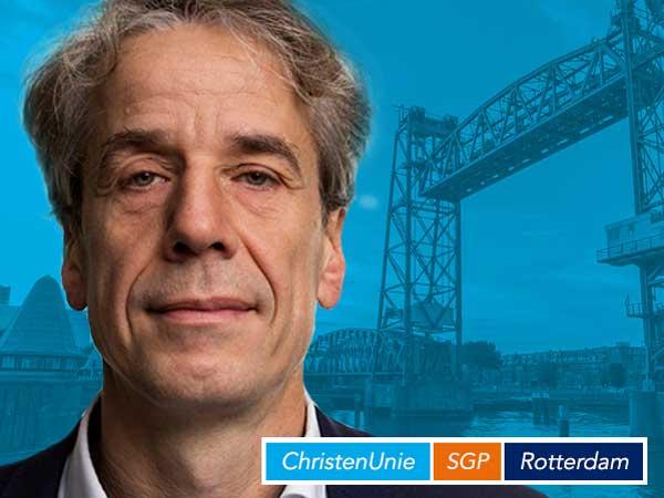CU/SGP Rotterdam: Lijsttrekker Tjalling Vonk