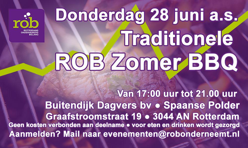 Donderdag 28 juni 2018 Zomer BBQ 2018 ROB
