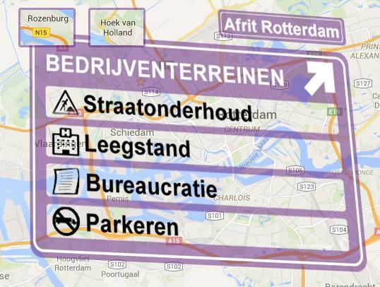 ROB, Quick Scan Bedrijventerreinen Rotterdam, september 2015