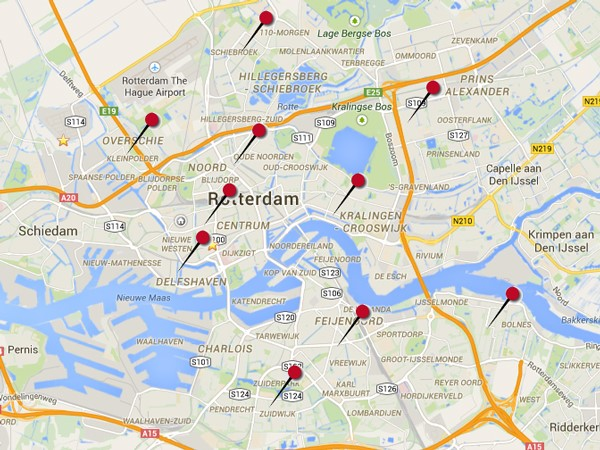 ROB, Quick Scan Winkelstraten Rotterdam, september 2015
