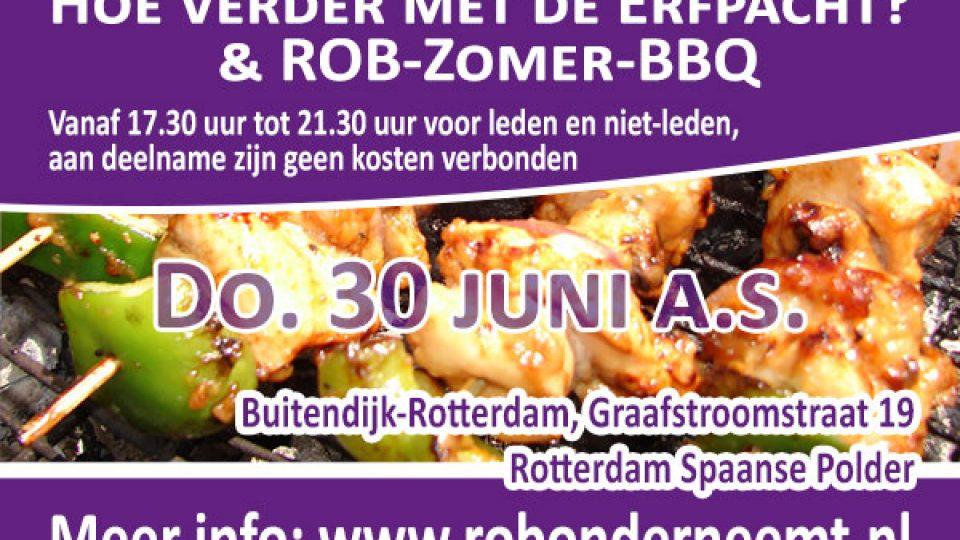 2016 ROB zomer BBQ en erfpacht