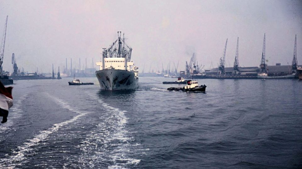 De Rotterdamse haven in 1962