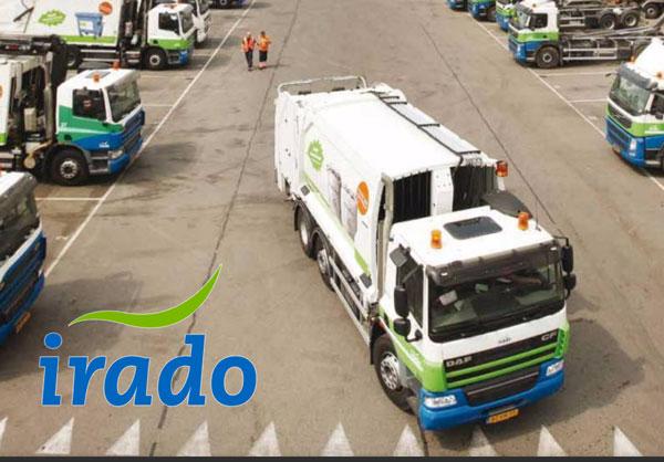 Slimme vuilniswagens dankzij mobiel netwerk
