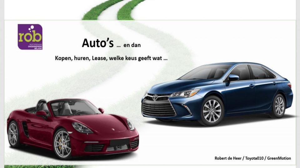 Presentatie Rober de Heer Greenmotion over Autolease voor het ROB op 20 april 2017