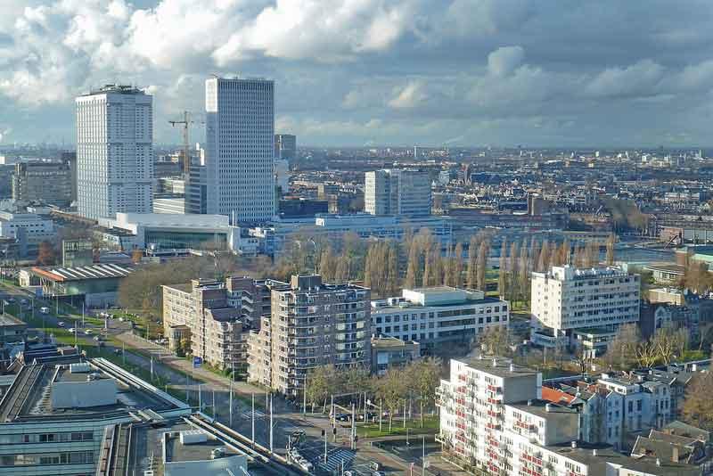 Rotterdam en regio werkloosheid