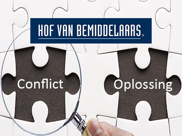 Hof van Bemiddelaars brengt oplossing in een conflict