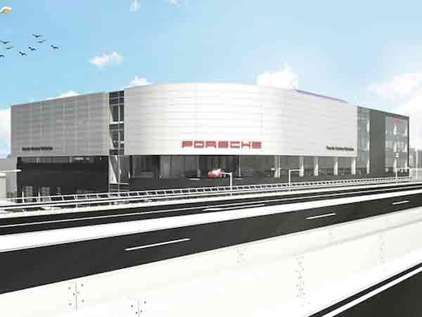 Nieuwe Porsche-dealer, Lamborghini en Bentley naar Rotterdam