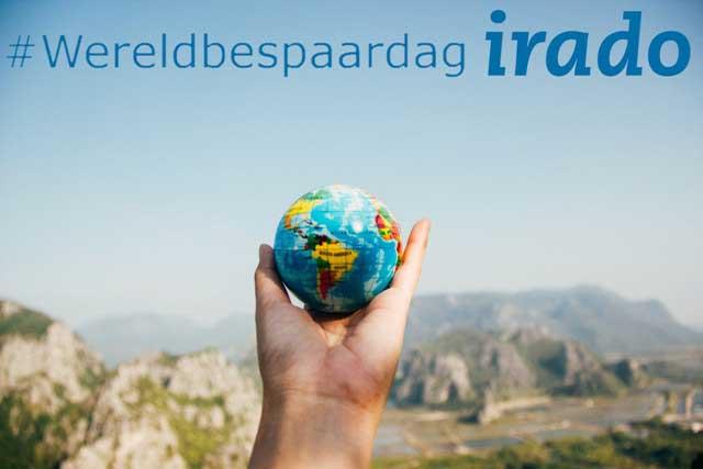 Wereldbespaardag met Irado