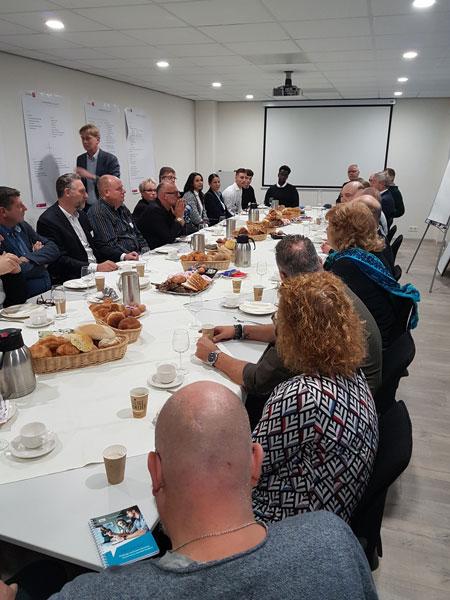 Ondertekening Intentieverklaring Leerwerkplaats Spaanse Polder (9/11/2018)