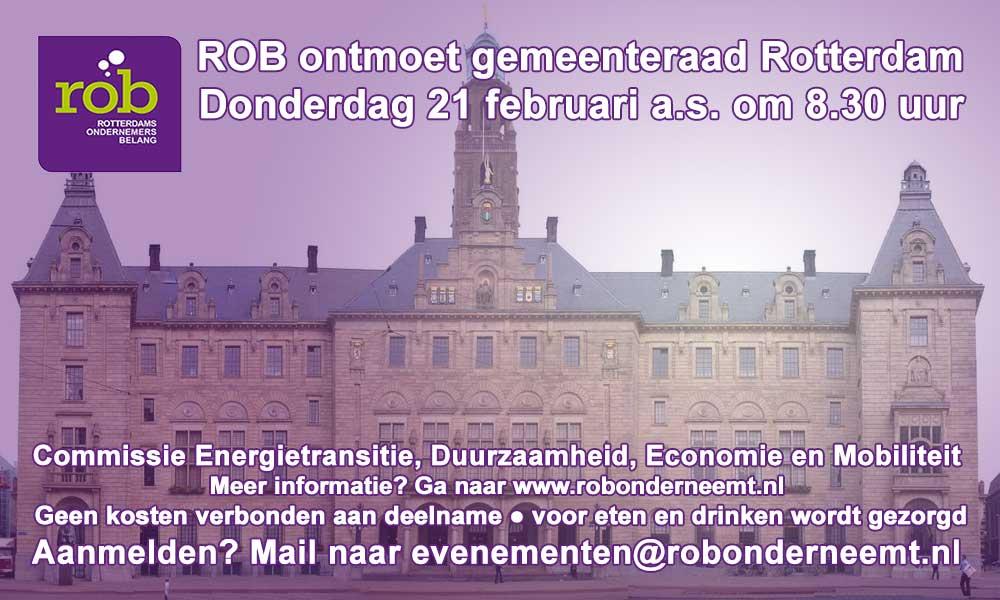 ROB bezoekt gemeenteraad