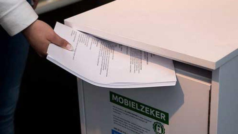 Papier en de AVG