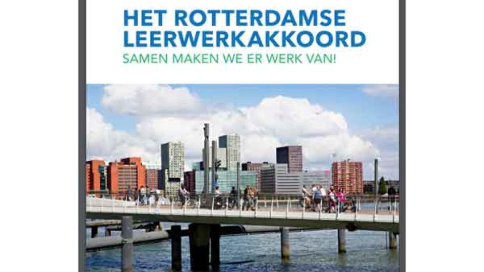 Rotterdamse Leerwerkakkoord ondertekend