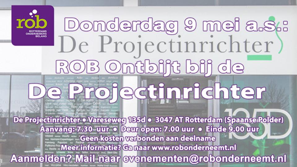 ROB Ontbijt bij De Projectinrichter
