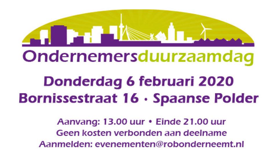 Ondernemersduurzaamheidsdag Spaanse Polder op donderdag 6 december 2020