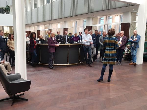 Nicole Kien van LS&H Lawyers - Ontbijt bij LS&H Lawyers 7 november 2019