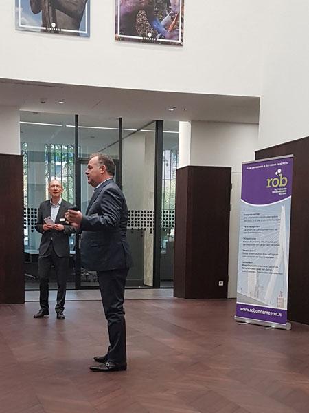 Hans Biesheuvel van ONL voor ondernemers - Ontbijt bij LS&H Lawyers 7 november 2019