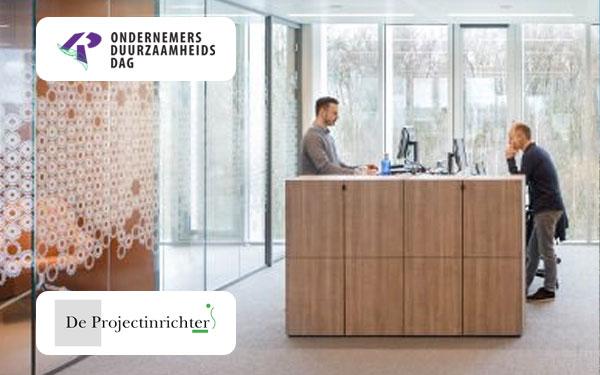 De Projectinrichter adviseert u over de ideale werkplek op de Ondernemersduurzaamheidsdag op do. 6 februari a.s.