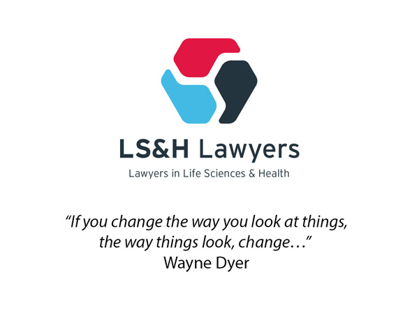 """If you change the way you look at things, the way things look, change……""  op donderdag 13 februari 2020 bij LS&H Lawyers"