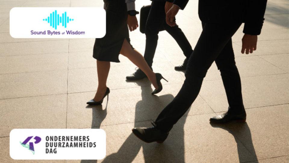 Sound Bytes of Wisdom helpt u om duurzaam om te gaan met uw medewerkers