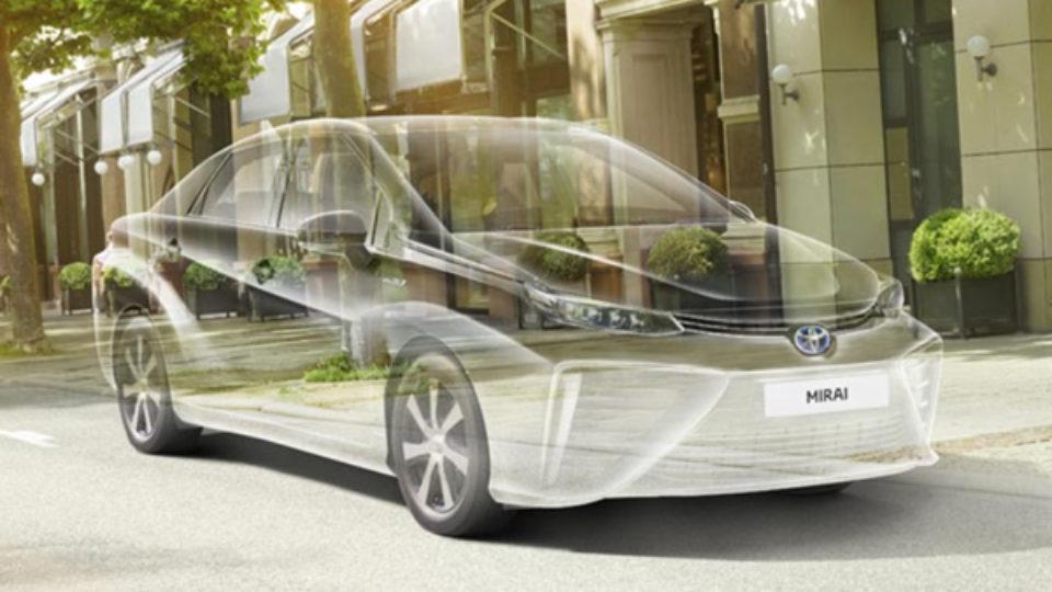 Toyota Mirai te bewonderen op de Ondernemersduurzaamheidsdag 6 februari a.s.