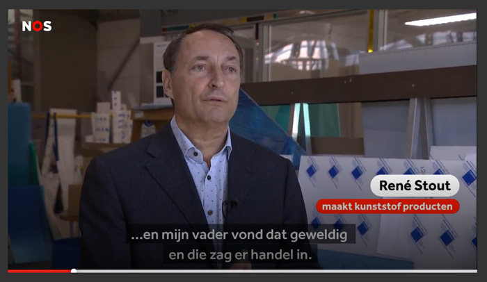 René Stout van Stout Perspex