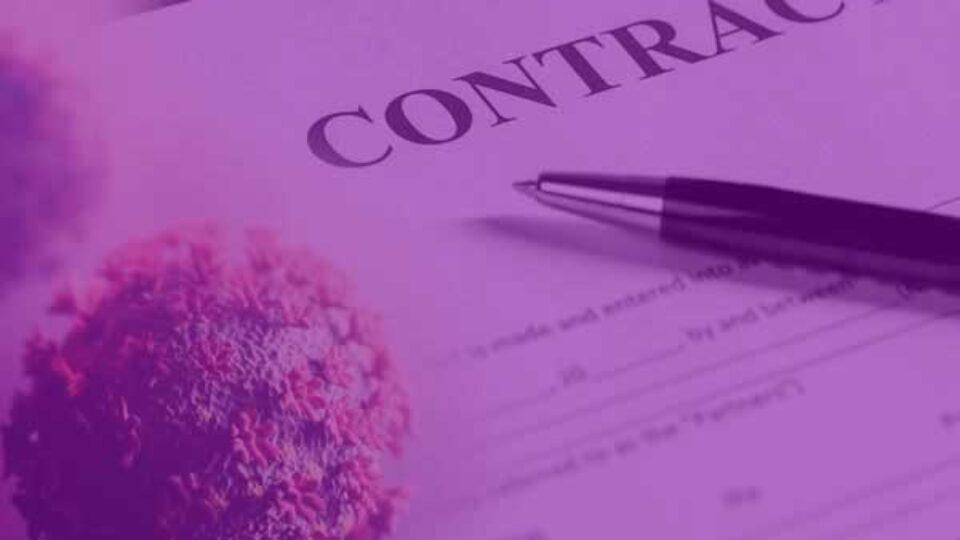 Loopt u aan tegen contractuele verplichtingen vanwege de Coronacrisis?