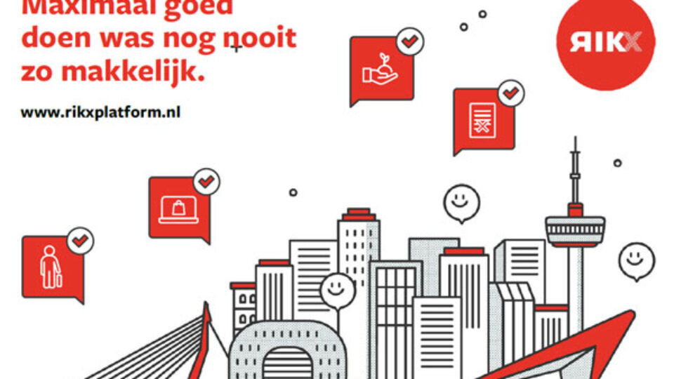 MVO ambitie of Social Return verplichting:  RIKX creëert sociale impact