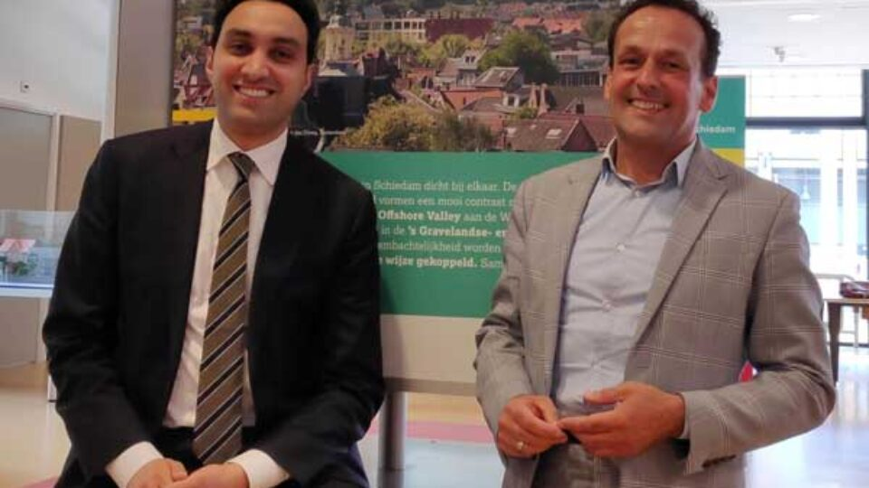 Schiedam: Wethouders in gesprek met ondernemers