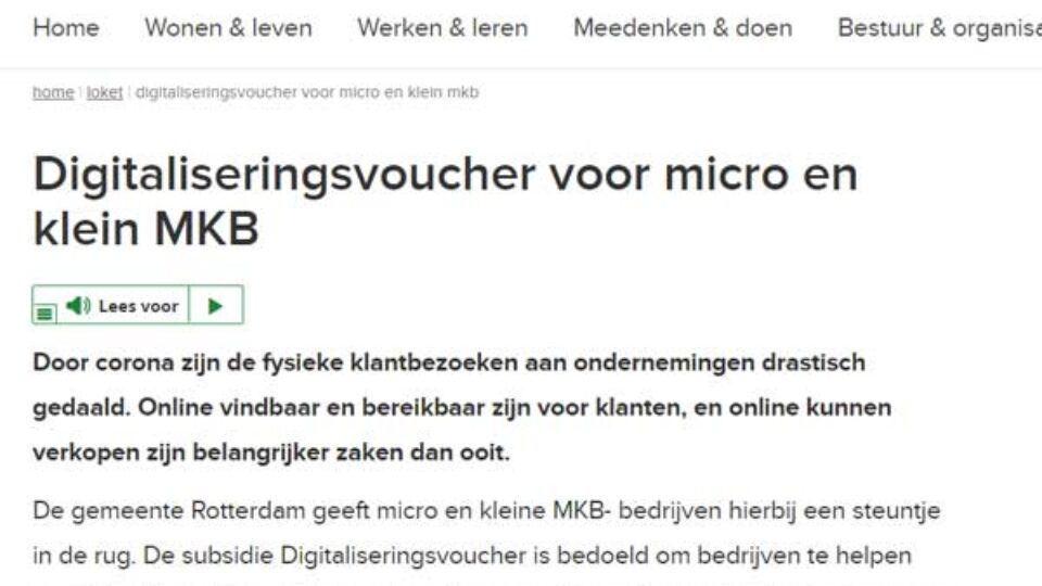 Digitaliseringsvoucher