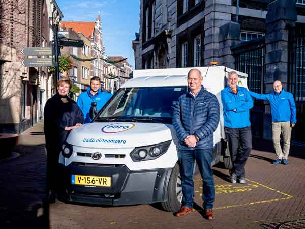 Irado start met Team Zero: duurzaam, veilig en schoon bedrijfsafval inzamelen