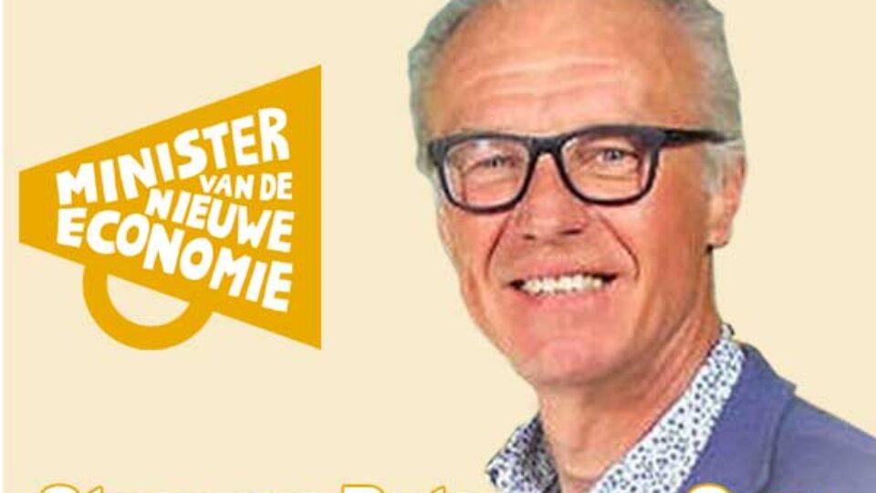 Stem op Peter van Oers als minister van de nieuwe economie!