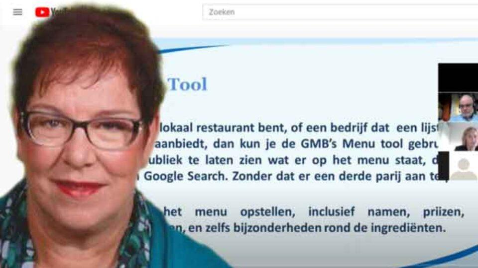 Nu op YouTube: Wat kun je met Google my Business – Elisabeth van der Meer in het ROB-online College